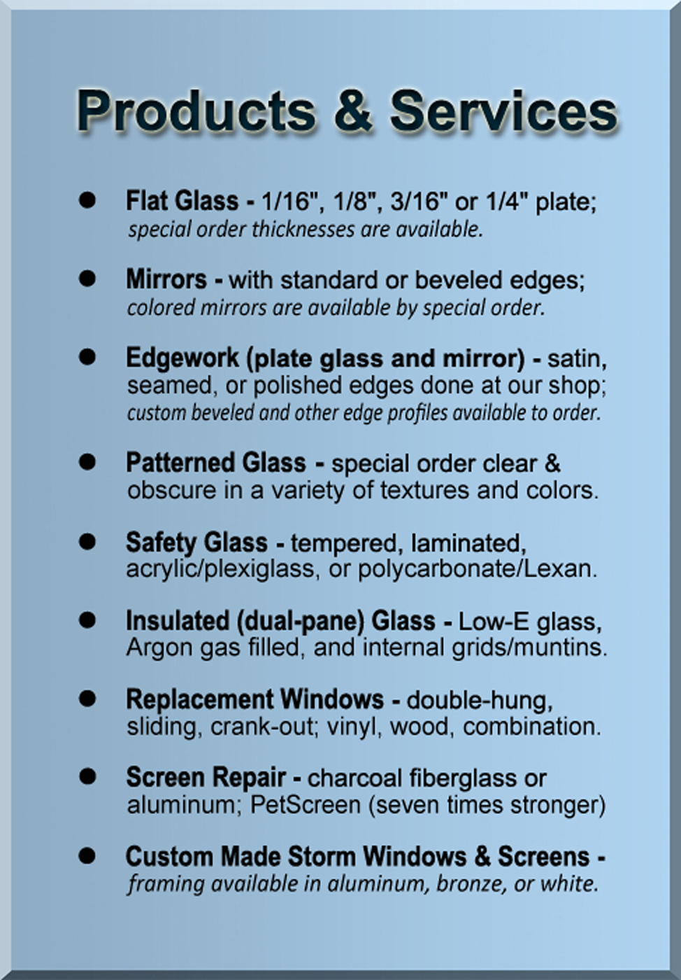 North East Glass Inc Erie Area Auto Glass Residential